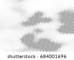 abstract halftone dotted... | Shutterstock .eps vector #684001696
