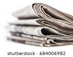 newspaper. | Shutterstock . vector #684006982