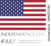 independence day  vector   Shutterstock .eps vector #684022282