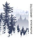 vertical abstract illustration... | Shutterstock .eps vector #684022702