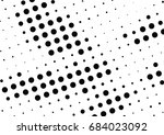 abstract halftone dotted... | Shutterstock .eps vector #684023092