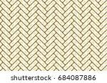 colorful herringbone pattern... | Shutterstock . vector #684087886