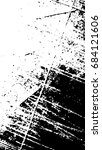 grunge black and white distress ... | Shutterstock .eps vector #684121606