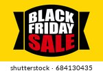 black friday sale promotion | Shutterstock .eps vector #684130435