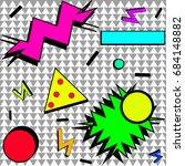 80s | Shutterstock .eps vector #684148882