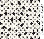 vector seamless pattern. modern ... | Shutterstock .eps vector #684152626