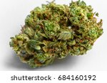 close up of medical marijuana... | Shutterstock . vector #684160192