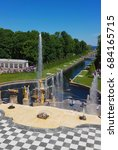 peterhof  russia   june 16 ... | Shutterstock . vector #684165715