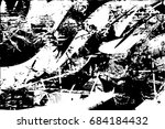 background black and white ... | Shutterstock .eps vector #684184432