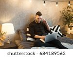 young businessman working on a...