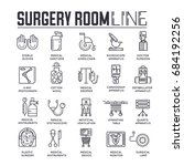 doctors making surgery vector... | Shutterstock .eps vector #684192256