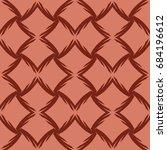 seamless geometry pattern of... | Shutterstock .eps vector #684196612