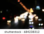 bokeh abstract background from... | Shutterstock . vector #684238312