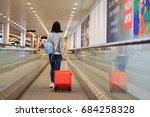 copenhagen airport  denmark  ... | Shutterstock . vector #684258328