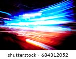 abstract motion blur effect for ... | Shutterstock . vector #684312052