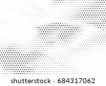 abstract halftone dotted... | Shutterstock .eps vector #684317062