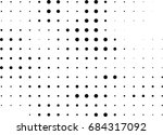 abstract halftone dotted... | Shutterstock .eps vector #684317092