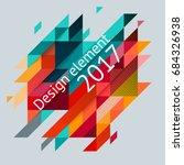 minimalistic design  creative... | Shutterstock .eps vector #684326938