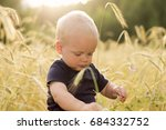 Adorable Baby Boy Checks The...