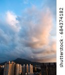 sunset | Shutterstock . vector #684374182