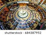 dubai  uae   april 07  mall of... | Shutterstock . vector #684387952