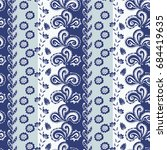 Striped Seamless Pattern With...