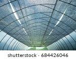 hydroponic farm   plant... | Shutterstock . vector #684426046