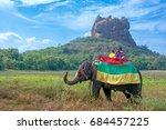 sigiriya  sri lanka   14 july... | Shutterstock . vector #684457225