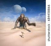 Giant In The Desert   3d...