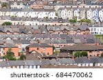 the bogside  derry  northern... | Shutterstock . vector #684470062