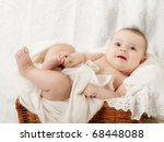 newborn baby | Shutterstock . vector #68448088