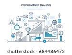 performance analysis. market... | Shutterstock .eps vector #684486472