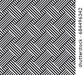 vector seamless pattern.... | Shutterstock .eps vector #684496342