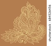 henna tattoo flower template....