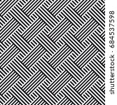 vector seamless pattern.... | Shutterstock .eps vector #684537598