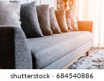 contemporary interior of living ... | Shutterstock . vector #684540886