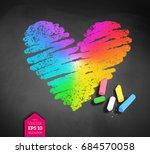 Vector Sketch Of Rainbow...