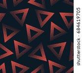 vector abstract stippled... | Shutterstock .eps vector #684619705