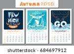 Calendar Design For 2018 Year....