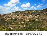 deir el qamar in mount lebanon... | Shutterstock . vector #684702172