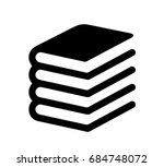 book icon   vector illustration | Shutterstock .eps vector #684748072
