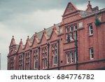 Victorian Building Facade In...