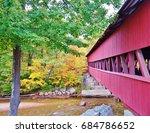 Colorful Autumn Scene In New...