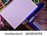 set of different school...   Shutterstock . vector #684806098