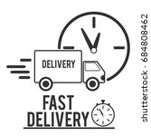 fast shipping delivery truck...