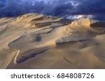 dune dunes in poland | Shutterstock . vector #684808726