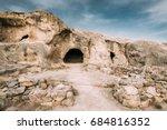 uplistsikhe  shida kartli... | Shutterstock . vector #684816352