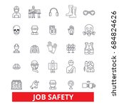 job safety  assurance  immunity ... | Shutterstock .eps vector #684824626