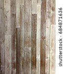 wooden plank wall vintage style | Shutterstock . vector #684871636