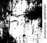 black and white grunge.... | Shutterstock . vector #684893782